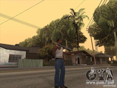 New Domestic Weapons Pack for GTA San Andreas eighth screenshot