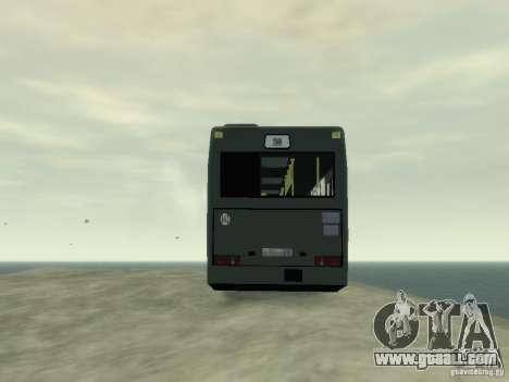 MAZ 103 Bus for GTA 4 inner view