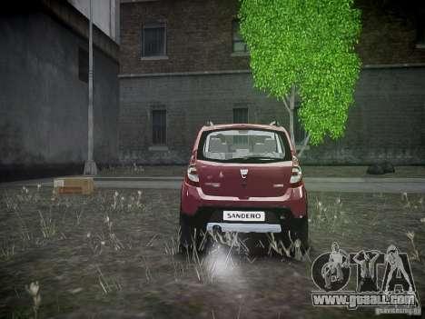 Dacia Sandero Stepway for GTA 4 right view