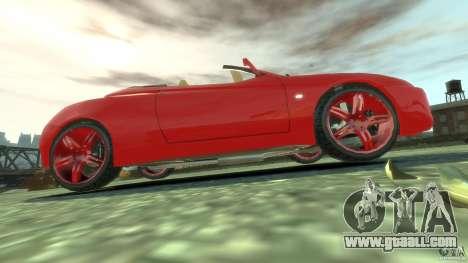 Alfa Romeo GTV Spider for GTA 4 upper view