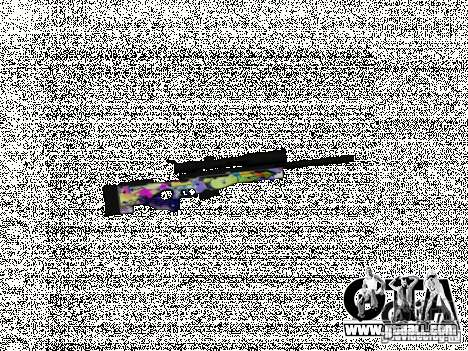Sniper Grafite for GTA San Andreas second screenshot