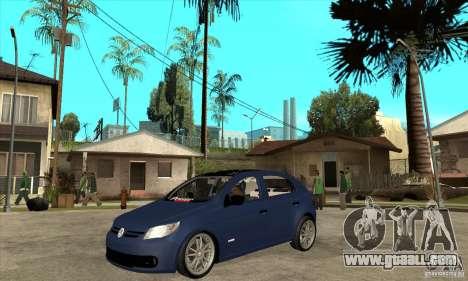 Volkswagen Gol Trend 1.6 for GTA San Andreas