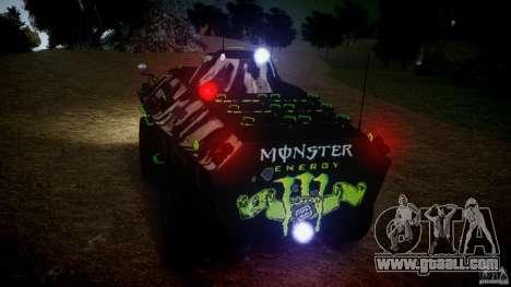 Monster APC for GTA 4 back view