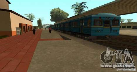 Metro type HEDGEHOG for GTA San Andreas left view