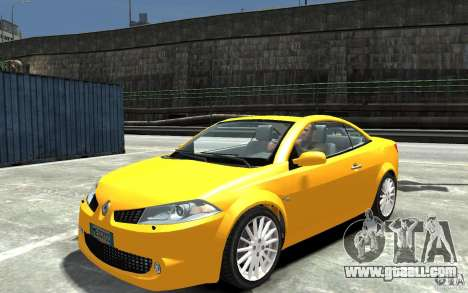 Renault Megane CC Kit RS for GTA 4