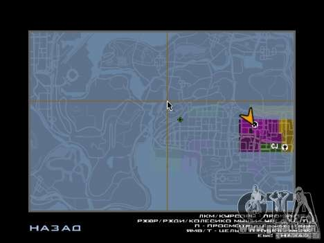 TBOGT HUD for GTA San Andreas forth screenshot