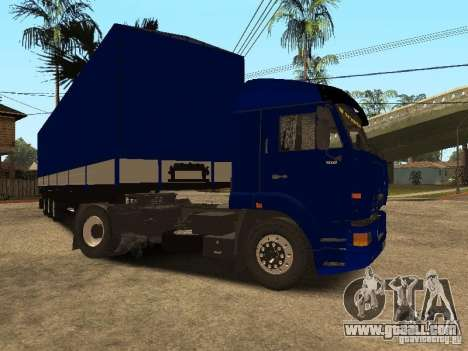 KAMAZ 5460 Truckers 2 for GTA San Andreas left view