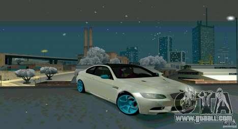 BMW E92 for GTA San Andreas