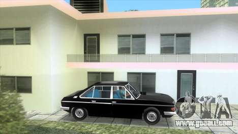 Tatra 613 1973 for GTA Vice City left view