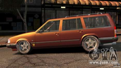 Volvo 945 Wentworth R Ridiculous Drift for GTA 4 left view