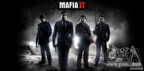 Boot images in the style of a Mafia II + bonus! for GTA San Andreas sixth screenshot