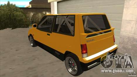 Suzuki Alto Euro for GTA San Andreas back left view