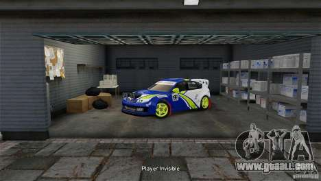 Subaru Impreza WRX STI Rallycross BFGoodric for GTA 4