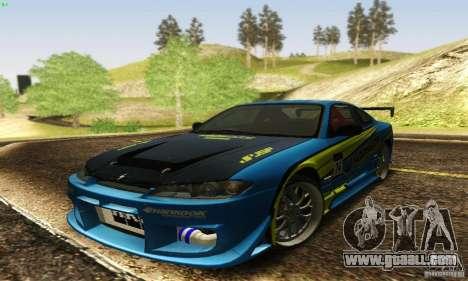 Nissan Silvia S15 for GTA San Andreas interior
