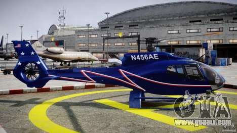 Eurocopter EC130B4 NYC HeliTours REAL for GTA 4 inner view