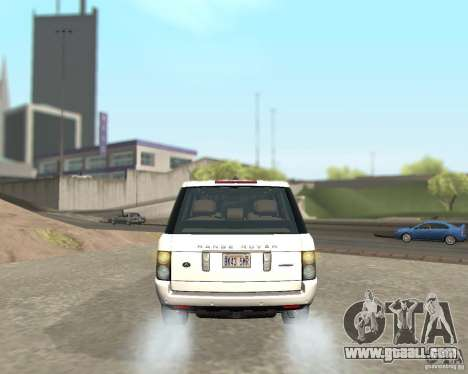 Land Rover Range Rover Supercharged 2008 for GTA San Andreas right view