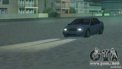 Halogen headlights for GTA San Andreas second screenshot