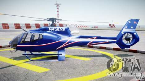 Eurocopter EC130B4 NYC HeliTours REAL for GTA 4 left view