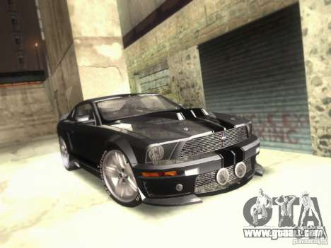Ford Mustang Eleanor Prototype for GTA San Andreas