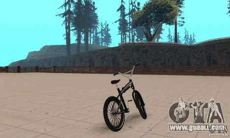 Puma MT Bike for GTA San Andreas left view