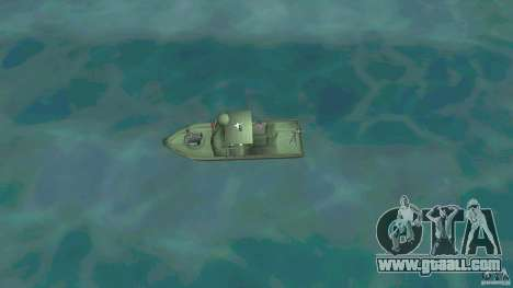 Patrol Boat River Mark 2 (Player_At_Wheel) for GTA Vice City right view