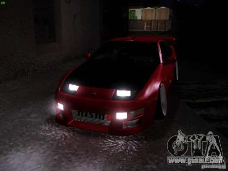 Nissan 300ZX Drift for GTA San Andreas side view