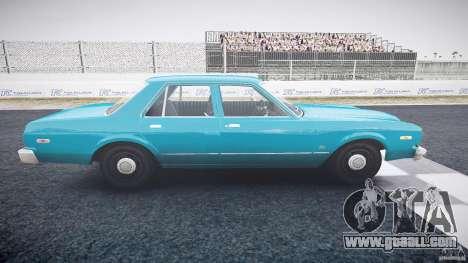 Dodge Aspen v1.1 1979 yellow rear turn signals for GTA 4 inner view