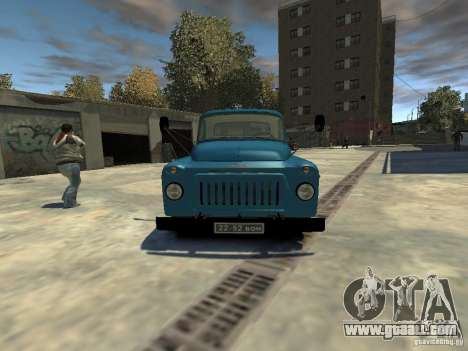 Gaz 52 HotRod for GTA 4 right view