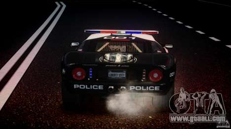 Ford GT1000 Hennessey Police 2006 [EPM][ELS] for GTA 4 engine