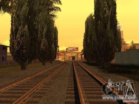 Unity Station for GTA San Andreas fifth screenshot