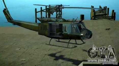 Bell UH-1D German Bundeswehr for GTA 4