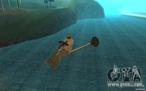 Flying Broom for GTA San Andreas