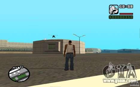 Air support when attacking. for GTA San Andreas sixth screenshot