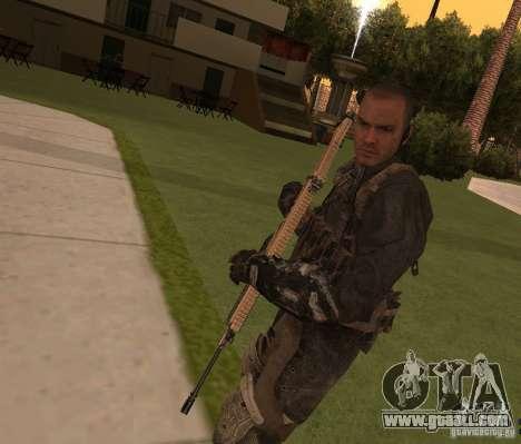 Yuri from Call of Duty Modern Warfare 3 for GTA San Andreas