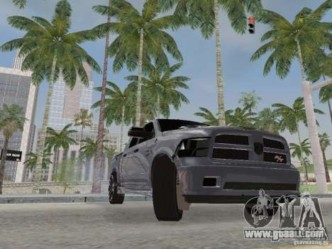 Dodge Ram R/T 2011 for GTA San Andreas inner view