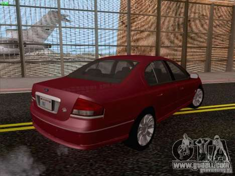 Ford Falcon Fairmont Ghia for GTA San Andreas back view