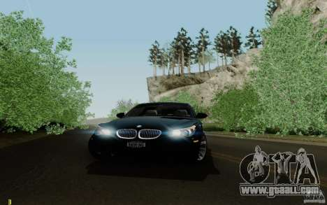 BMW M5 2009 for GTA San Andreas side view
