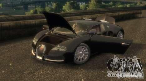 Bugatti Veyron 16.4 v3.1 for GTA 4 left view