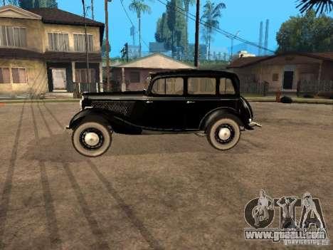 Gaz M1 for GTA San Andreas left view