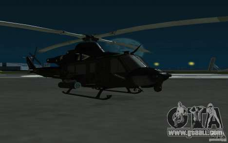 UH-1Y Venom for GTA San Andreas back left view