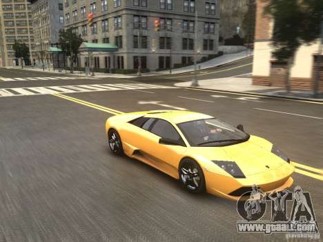 Lamborghini Murcielago LP640 2007 for GTA 4 right view