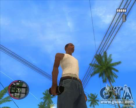 Smoke grenade HD for GTA San Andreas second screenshot