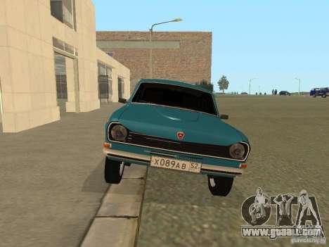 Volga GAZ 24-10 for GTA San Andreas right view