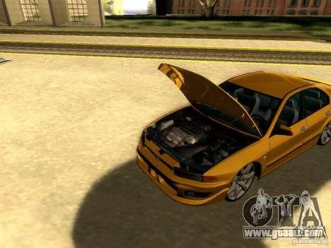 Mitsubishi Galant 2002 for GTA San Andreas inner view