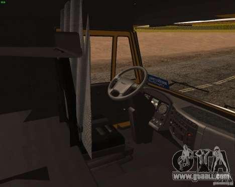 KamAZ 5460 Truckers 2 for GTA San Andreas right view