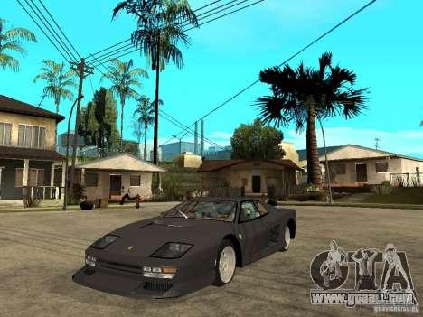 Ferrari TestaRossa Bustard Tuning for GTA San Andreas