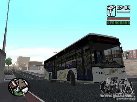 LAZ InterLAZ 12 for GTA San Andreas