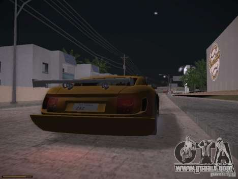 TVR Cerbera Speed 12 for GTA San Andreas left view
