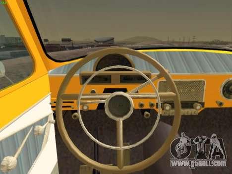 GAS 22 for GTA San Andreas bottom view