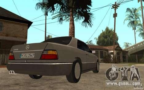 Mercedes-Benz E320 C124 for GTA San Andreas right view
